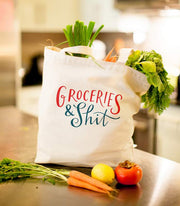 Emily McDowell - Groceries - Tote Bag