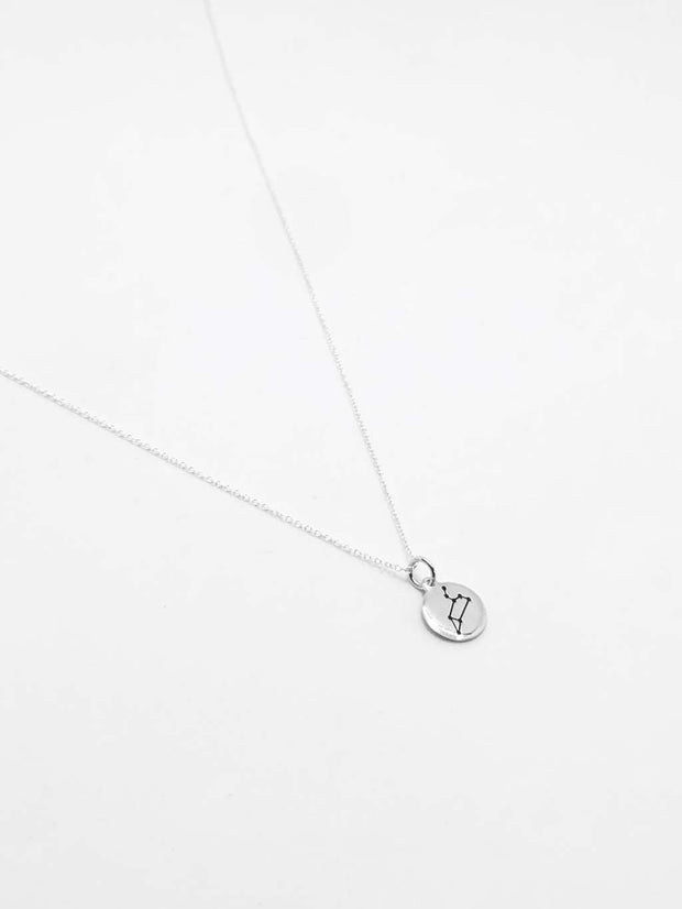 Some Sterling Silver Mini Star Sign Necklace Leo 896