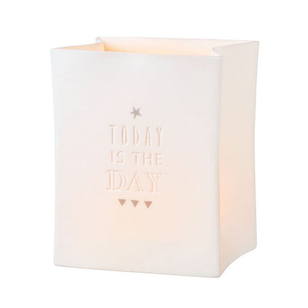 Räder - Today Is The Day - Porcelain Tealight Bag RD13236