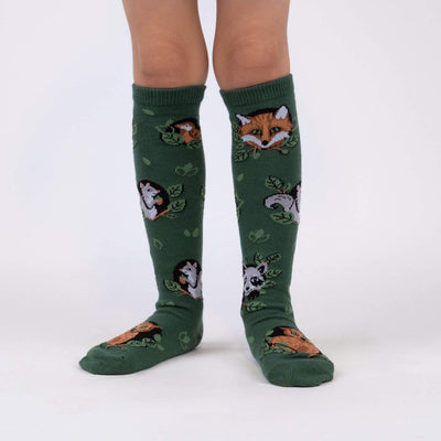 Sock it to Me Youth Knee Socks Woodland Watchers age 3-6 yk0095