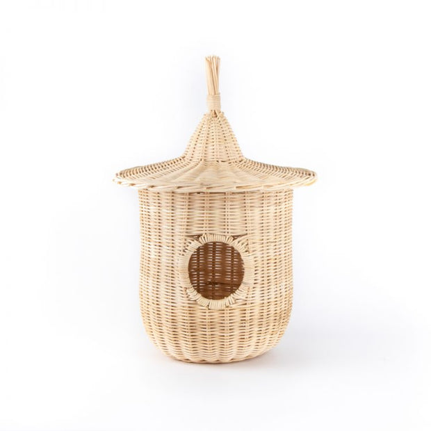 Trade Aid Natural Rattan Bird Nest