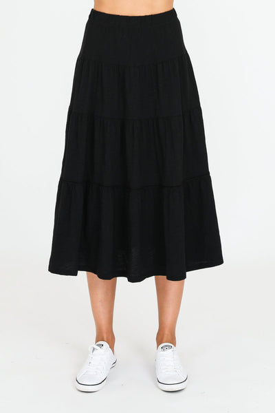 3rd Story, Piper Skirt Black 1358