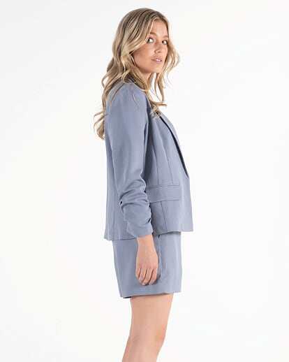 Sass Kastel Blazer in Chambray