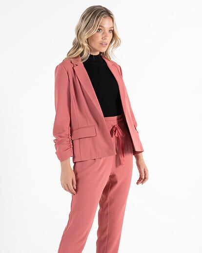Sass Kastel Blazer in Rose