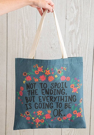 Natural Life Happy Tote Bag Enjoy The Little Things 372