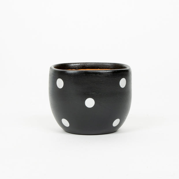 Trade Aid Small Black Planter  Pot 17.03.5601