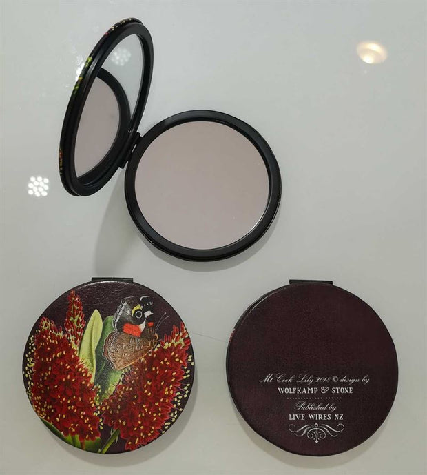 Wolfkamp & Stone - Hebe & Butterfly 02- Cosmetic Mirror