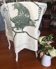 Wild Honey Art Kaka Teatowel