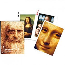 Piatnik Leonardo Da Vinci Playing Cards
