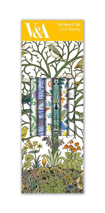 Museums & Galleries - CFA Voysey - Pencil Set