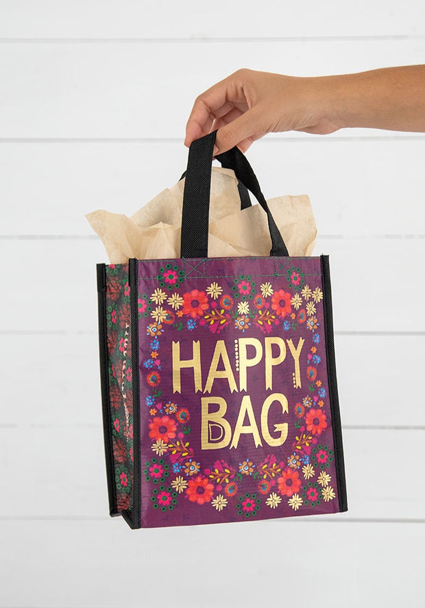 Natural Life Gift Bag Recycle Med Holiday Happy 124