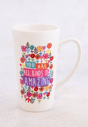 Natural Life Latte Mug You Are Amazing 347