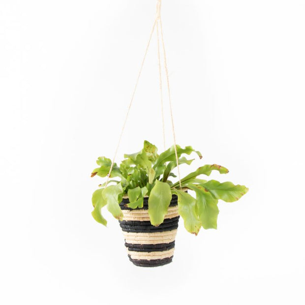 Trade Aid Striped Hanging Basket 25.03.145