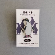 Natty Hoiho Yellow -Eyed Penguin Enamel Pin E12
