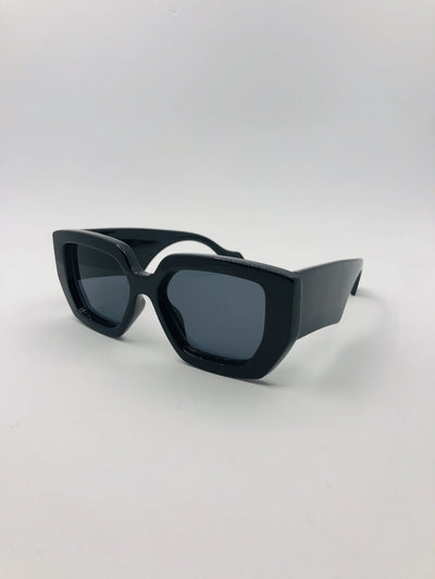 Some Flintstones Black Sunglasses 112