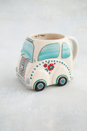 Natural Life Folk VW Beetle Mug 335
