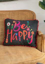 Happy Pillow Be Happy 136