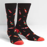 Sock it to Me Men's Crew Socks Hot Sauce SM0247