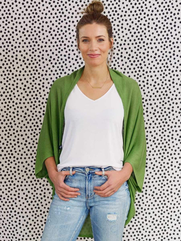 Hello Friday Flo Cardi Peagreen 255