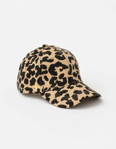 Stella and Gemma CAP SUMMER LEOPARD WITH GOLD CROSS 2009