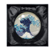 Museums & Galleries - Hokusai Wave - Paperweight