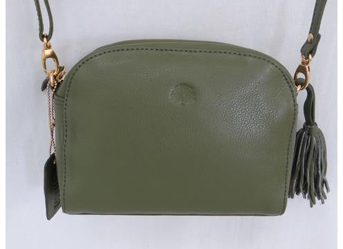 Second Nature ST63 Pebbled Leather Crossbody Bag