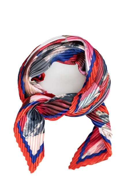 Stilen Rose Pleated Scarf