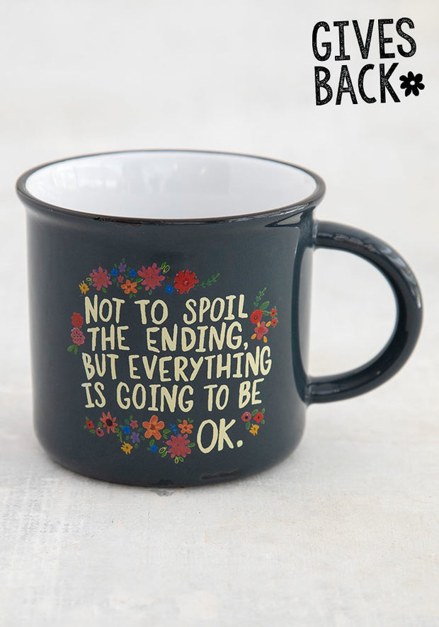 Natural Life Not to Spoil the Ending Mug 382