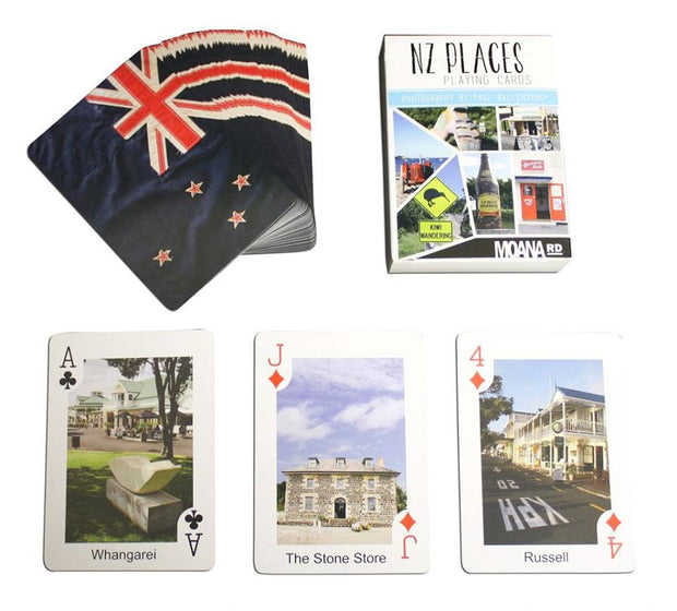 Moana Road NZ Places Playing Cards