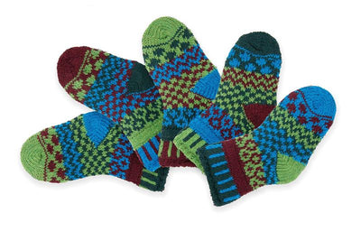 Solmate Socks - June Bug Set of 5 - Baby Socks