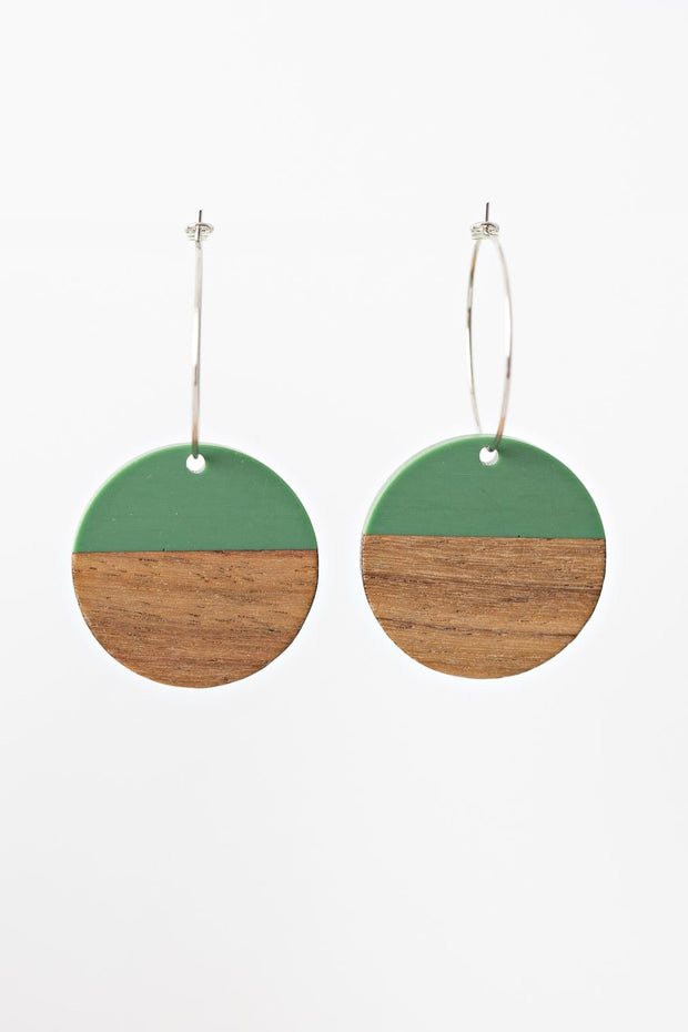 Stilen Erin Green Earrings