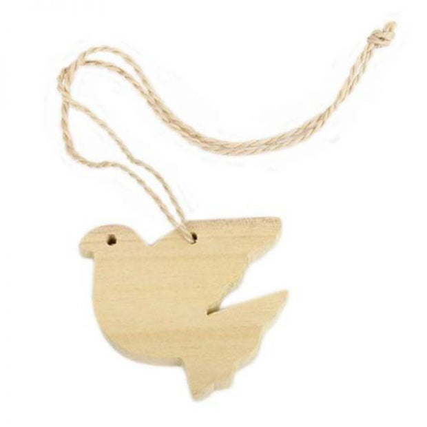 Trade Aid Wooden Dove Hanging 01.01.9866