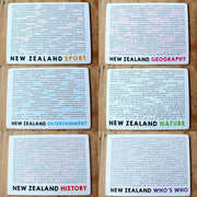 Moana Road Set of 6 Placemats - NZ Quiz