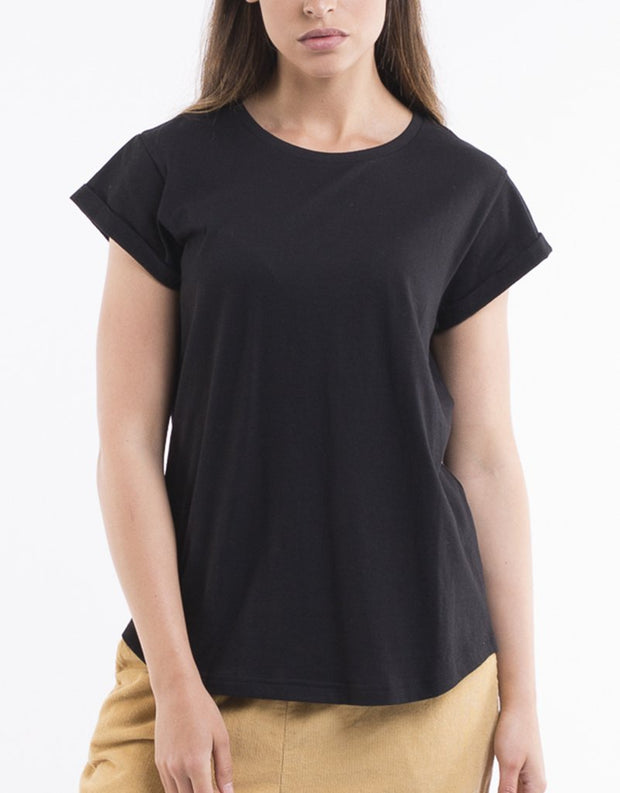 Silent Theory Lucy Tee in Black