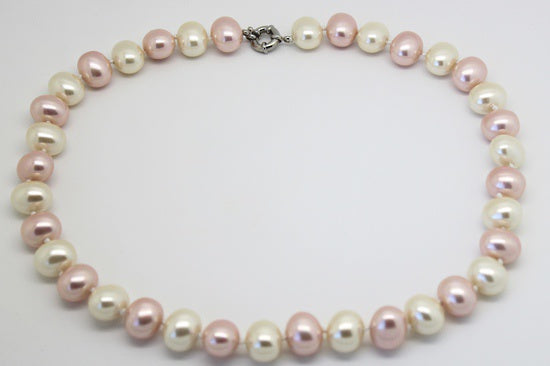 Beau La De Dah Rose Pearl Necklace WN222