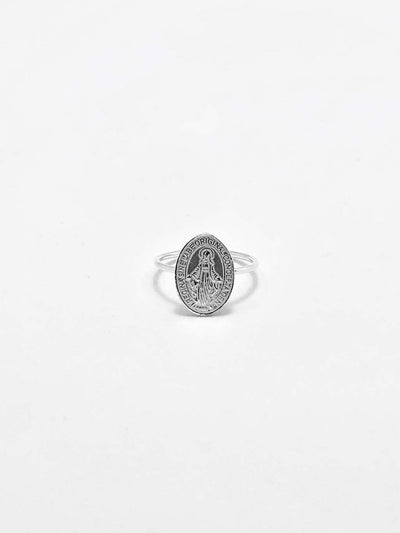 Some Sterling Silver Mary Ring 172