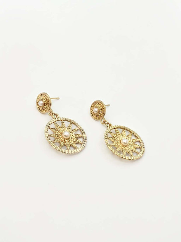 Some Sun Pearl Earrings 181
