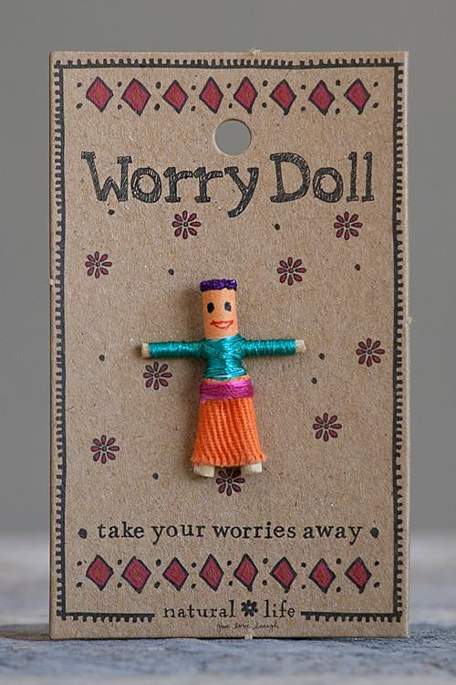 Natural Life Worry Doll Girl 002
