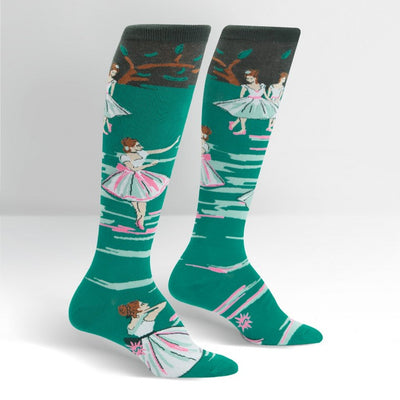 Sock it to Me Women's  Knee High Socks the Rehearsal Ballet