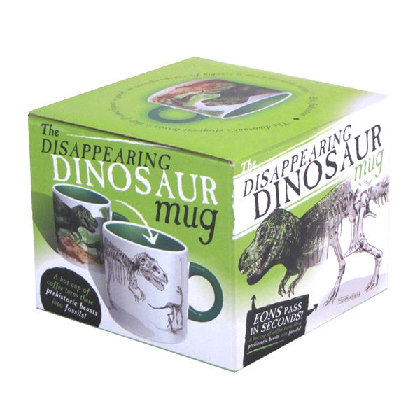 The Unemployed Philosophers Guild - Dinosaur - Disappearing Mug