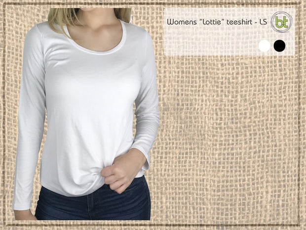 Bamboo Textiles Lottie Long Sleeve Tshirt