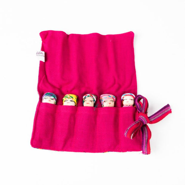 Trade Aid 5 Large Worry Dolls in a Bag