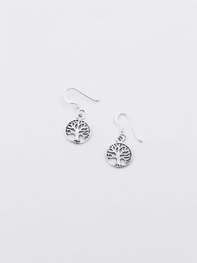 Some Sterling Silver Tree of Life Earrings 862
