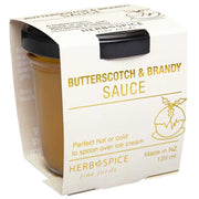 Herb and Spice Butterscotch and Brandy Sauce 120ml