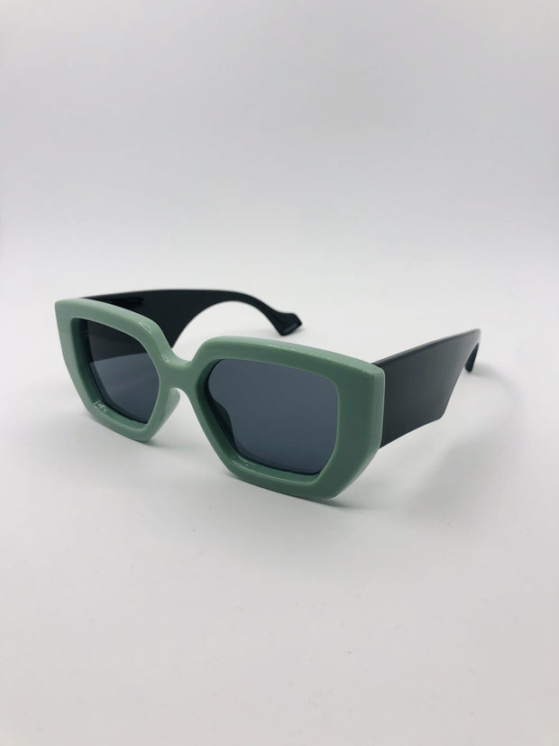 Some Flintstones Green Sunglasses 111