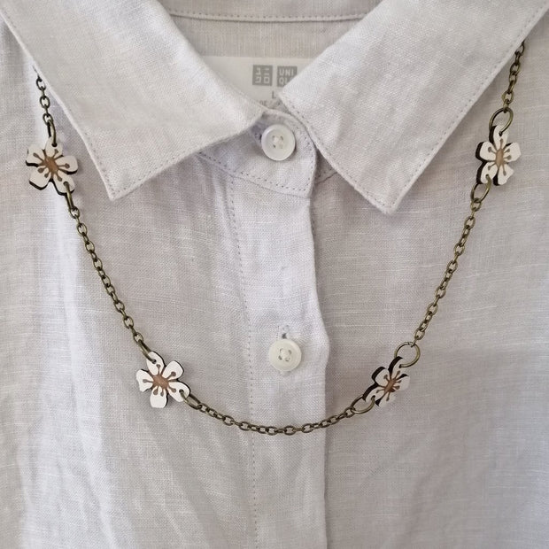 Natty Manuka Chain Necklace J58