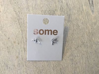 Some Sterling Silver Buzzy Bee Stud Earrings 824