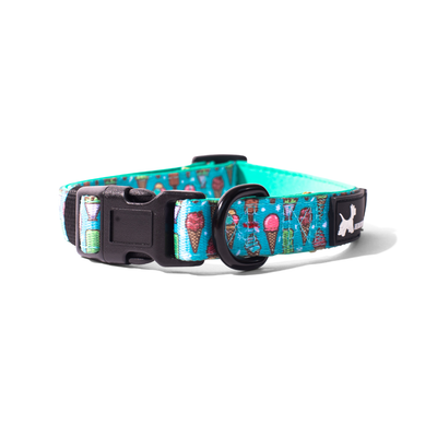 Healthy Dog & Co Minty Ice Design Collar