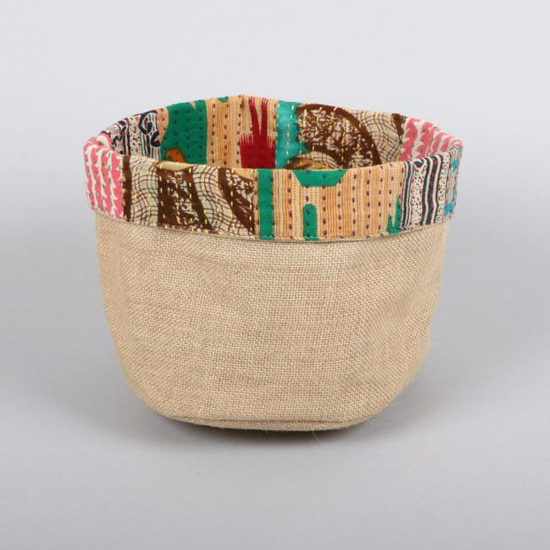 Trade Aid Sari Trim Basket 01.04.1678