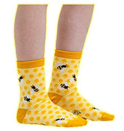 Sock it To Me Bees Knees Childrens Crew Socks Age 7-10 Years